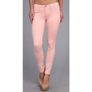 AG ADRIANO GOLDSCHMIED Pink Haze Zip Up Legging